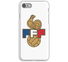 FRANCE FOOTBALL FEDERATION iPhone Case/Skin