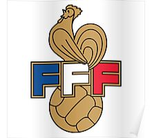 FRANCE FOOTBALL FEDERATION Poster