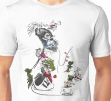 Story Lines - Alice in Wonderland Characters Unisex T-Shirt
