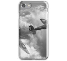 The Chase, B&W version iPhone Case/Skin