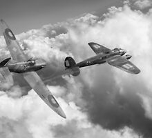 The Chase, B&W version by Gary Eason