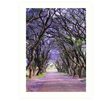 It is purple in Cullinan Art Print