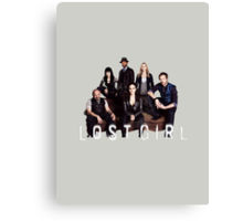 Lost Girl Cast Canvas Print