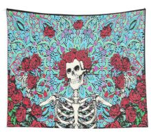 Grateful Dead - Skelton & Roses Wall Tapestry