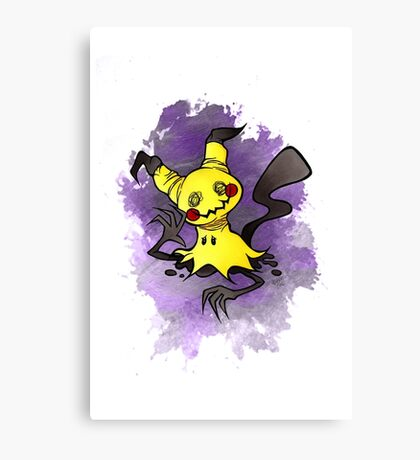 Mimikkyu Pokemon  Canvas Print