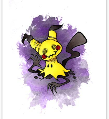 Mimikkyu Pokemon  Sticker