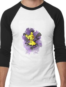 Mimikkyu Pokemon  Men's Baseball ¾ T-Shirt