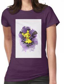Mimikkyu Pokemon  Womens Fitted T-Shirt