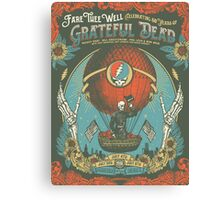 Grateful Dead - Fare Thee Well (Soldier Field - Chicago) Canvas Print