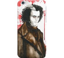 Sweeney Todd - Demon Barber iPhone Case/Skin