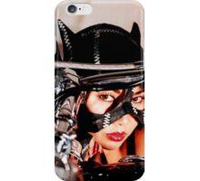 beautiful bikers catwoman iPhone Case/Skin