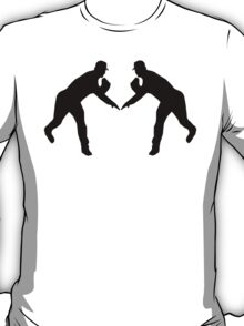 Baseball Pitcher Mirror Image T-Shirt