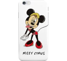 Minnie Cyrus (Miley Cyrus and Minnie Mouse Parody Mix) iPhone Case/Skin