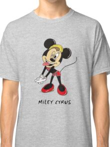 Minnie Cyrus (Miley Cyrus and Minnie Mouse Parody Mix) Classic T-Shirt