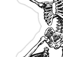 Dance your bones off Sticker