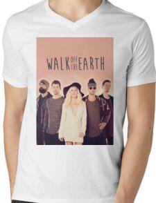 Walk Off The Earth Mens V-Neck T-Shirt