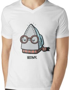Iron-y Mens V-Neck T-Shirt