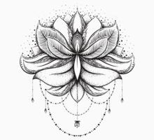 ornamental Lotus, Kids Tee