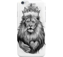 King of the Jungle iPhone Case/Skin