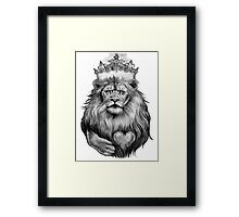 King of the Jungle Framed Print