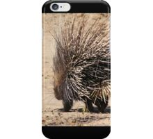 Porcupine and its Quills - African Wildlife iPhone Case/Skin