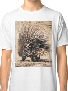 Porcupine and its Quills - African Wildlife Classic T-Shirt