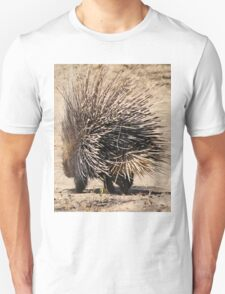 Porcupine and its Quills - African Wildlife T-Shirt