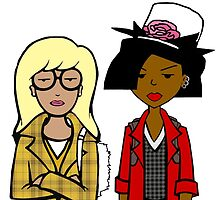 Clueless Daria by alligatordreams