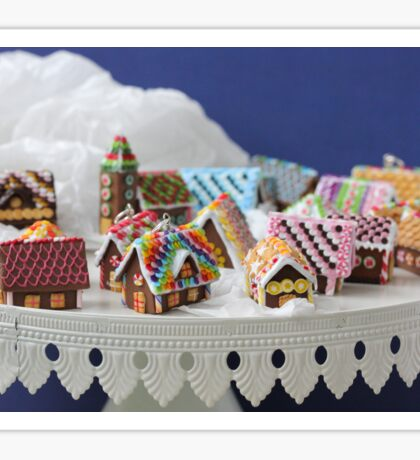 Who Needs a Cake When You Can Get Tiny Houses? Sticker