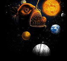 Cosmic Angler Fish by Jonah Block