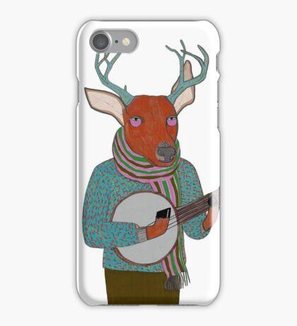 Banjo Deer iPhone Case/Skin
