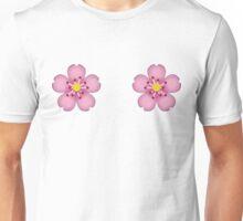 Emoji flower Unisex T-Shirt