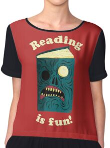Reading is Fun Chiffon Top