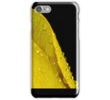black and yellow iPhone Case/Skin