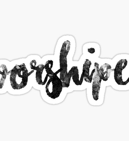 Worshiper Sticker