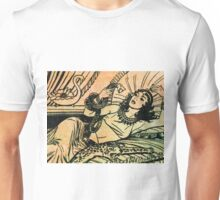 Egyptian Queen Cleopatra reclining on her bed Unisex T-Shirt