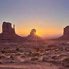 Monument Valley Sunrise by Firesuite