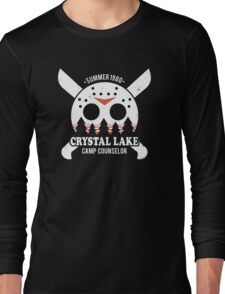 Camp Crystal Lake Counselor Long Sleeve T-Shirt