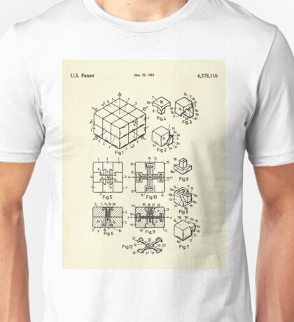 Rubik's Cube-1983 Unisex T-Shirt