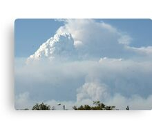 California Wildfires leave layers in the sky; Lei Hedger Photography All Rights Reserved 8/30/2009 Canvas Print