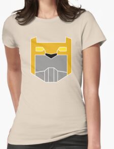 Yellow Lion Womens Fitted T-Shirt