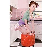 Kitchen Bombshell Photographic Print