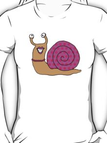 Snails-Pretty in Pink T-Shirt