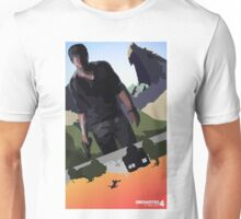 Uncharted 4 | Nathan in Action Unisex T-Shirt