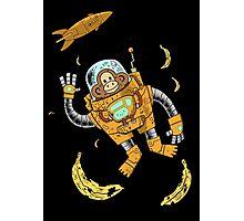 space chimp Photographic Print
