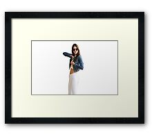 Kendall's Busy Framed Print