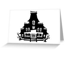 Luigi's Mansion House Greeting Card