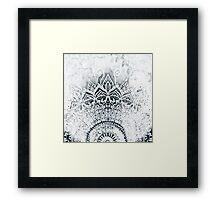 MINA MANDALA Framed Print