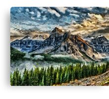 Breathe It In Canvas Print