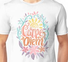 Carpe Diem - Seize the day Latin phrase Unisex T-Shirt